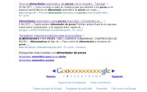 "buscar en google ""alimentador de peces"""